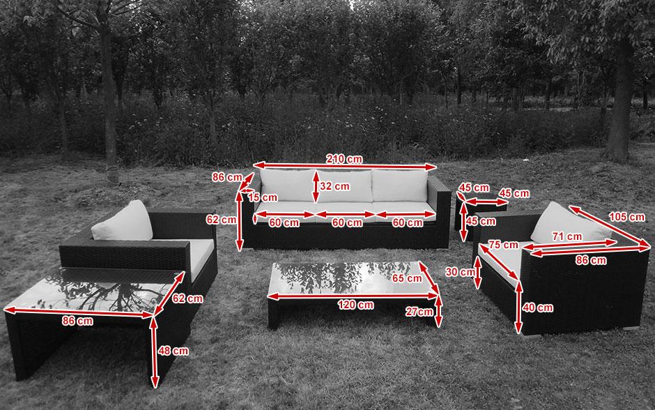 zestaw mebli ogrodowych