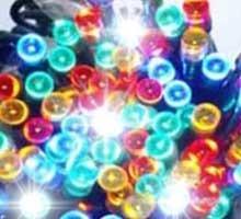 Sznur świetlny 200 led multikolor błysk