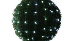 Lampki na druciku • 8 wiązek o dł. 1,7 m • 144 LED • zewnętrzne oświetlenie świąteczne NR 0204