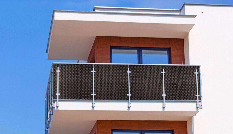 Osłona balkonowa o szerokości 110 cm z technorattanu 1mb. PRODUKT NR 0370