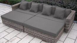 GRACJA - modułowa sofa rattanowa do ogrodu - NR 0410