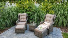 SARDYNIA - rattanowe fotele ogrodowe z technorattanu - NR 0436