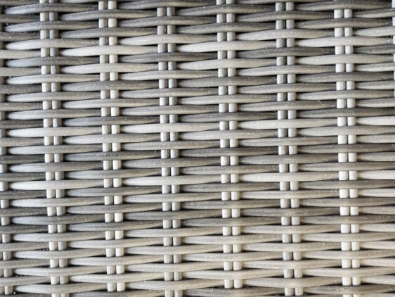 OLIMP 150 Stół Tarasowy Okrągły 150cm i 6 Foteli z Technorattanu